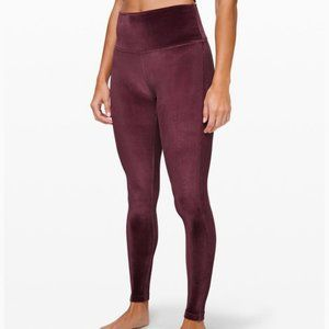 "NWT Lululemon Wunder Under HR Tight 28"" *V, Sz 6"